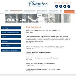 Philomène - Culture et Loisirs pour Seniors