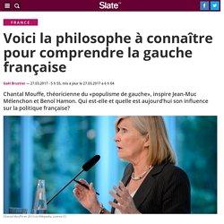 Voici la philosophe à connaître pour comprendre la gauche française