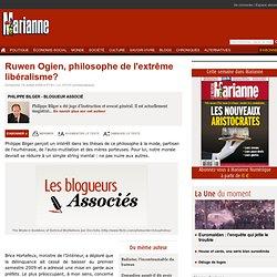Ruwen Ogien, philosophe de l'extrême libéralisme?