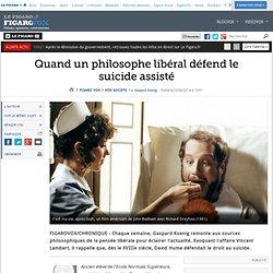 23/06/14 Quand un philosophe libéral défend le suicide assisté