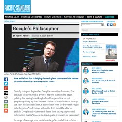 Google's Philosopher: Tech and the Nature of Identity