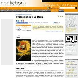 Philosopher sur Dieu
