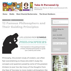 12 Famous Philosophers and Their Guiding Principles