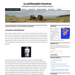 Les philosophes du bonheur