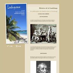 Les philosophes des lumières face à l'esclavage - Histoires de la Guadeloupe - LADOGRAVE