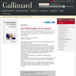 Les Philosophes et la science - Folio essais