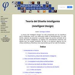 Enciclopedia filosófica on line — Voz Teoría del Diseño Inteligente (Intelligent Design)