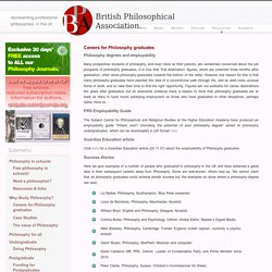 British Philosophical Association – representing professional philosophers in the UK