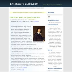 Littérature audio - Philosophie
