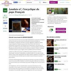 Laudato si', l'encyclique du pape François