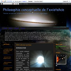 ARTICLE 14/04/2012 - NDE & physique quantique - cdavidts.blogspot.fr