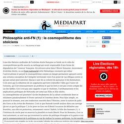 Philosophie anti-FN (1) : le cosmopolitisme des stoïciens