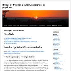Blogue de Stéphan Bourget, enseignant de physique