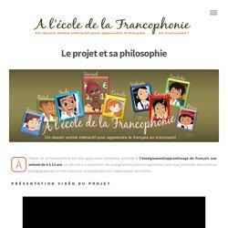 application numérique destinée à l'enseignement/apprentissage du français aux enfants de 8 à 12 ans.