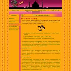 L'Inde, religion et philosophie - Hindouisme - les symboles de l'inde : om, svastika