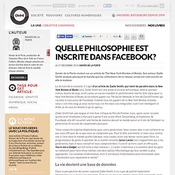 Quelle philosophie est inscrite dans Facebook? » Article » OWNI, Digital Journalism