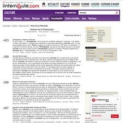 Histoire de la Philosophie - L'Internaute Magazine