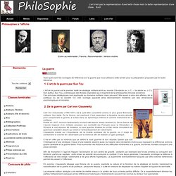 PhiloSophie - La guerre