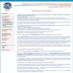 Philosophie de soin de l'Humanitude® et Méthodologie de soin Gineste-Marescotti ® - La philosophie de l'Humanitude