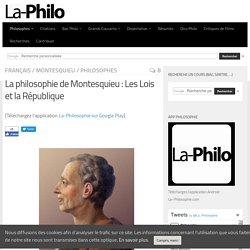 La philosophie de Montesquieu : Les Lois et la République