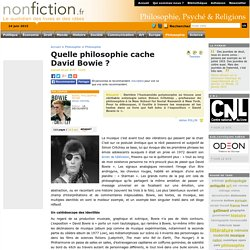Quelle philosophie cache David Bowie