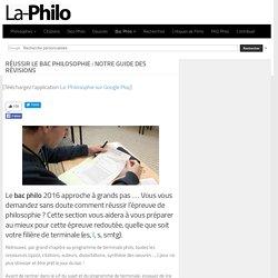 Bac Philosophie : Notre guide des révisions