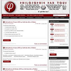 Philosophie par tous » Café-philo sur Poitiers