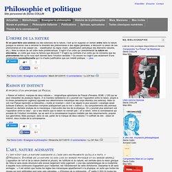 Philosophie et politique