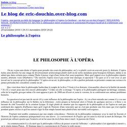 Le blog de eric-douchin.over-blog.com - Éric Douchin professeur agrégé de philosophie ouvrages, publications et conférences