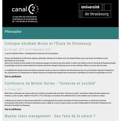 CanalC2 : la web télévision des événements universitaires de l'Université de Strasbourg
