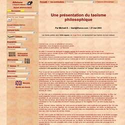 Taoïsme philosophique : Définition, Tao Te King, Lao Tseu, Yin et Yang...