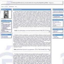Le site philosophique de l'académie de Reims - L'identité personnelle