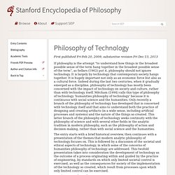stanford : histoire des TECHNIQUES
