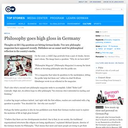 Philosophy goes high gloss in Germany