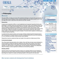 Philosophy — IRILL