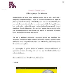 Philosophy – the Movies