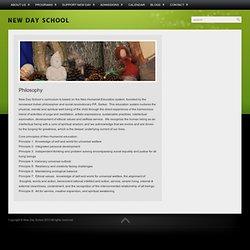 Philosophy - New Day School