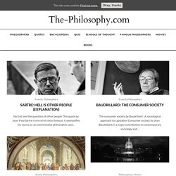The-Philosophy - Philosophy & Philosophers