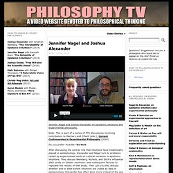 Philosophy TV