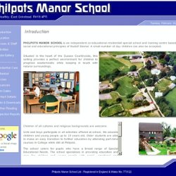 Philpots Manor School - Introduction