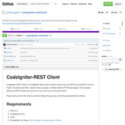 philsturgeon/codeigniter-restclient
