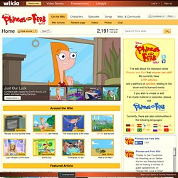 Phineas and Ferb Wiki - Your Guide to Phineas and Ferb