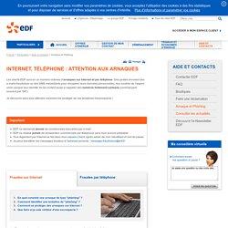 """Le """"phishing"""", faux e-mails d'EDF : une arnaque courante sur Internet"""