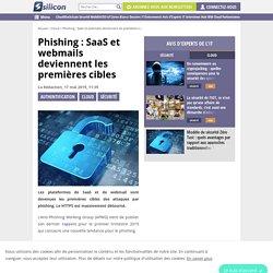 Phishing : SaaS et webmails deviennent les premières cibles