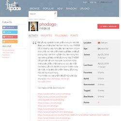 Phodogo's profile