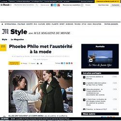 Phoebe Philo met l'austérité à la mode