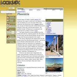 Phoenicia - LookLex Encyclopaedia