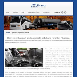 Phoenix Airport Car Service - Phoenix Car Service Airport, Town Car Service Phoenix