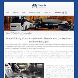 Phoenix Airport Transportation - Phoenix Limo Service
