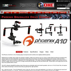 Phoenix Brushless Drive Gimbals - PhotoShip One